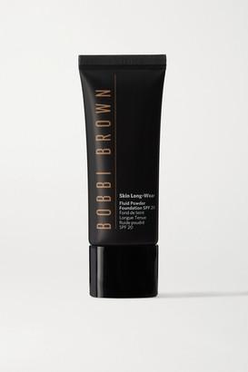 Bobbi Brown Skin Long-wear Fluid Powder Foundation Spf20 - Honey