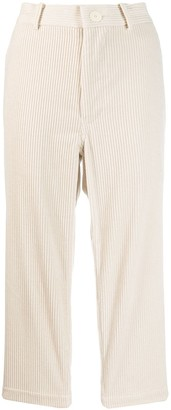 Sofie D'hoore Corduroy Cropped Trousers