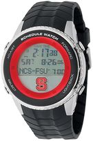 Game Time North Carolina State Wolfpack Stainless Steel Digital Schedule Watch