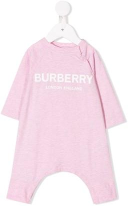 BURBERRY KIDS Logo Print Bodysuit