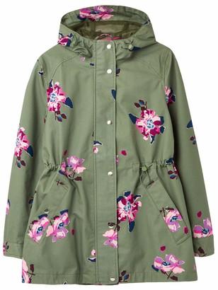Joules Outerwear Women's Shoreside Print Rain Jacket