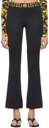 Versace Underwear Black Greek Key Lounge Pants