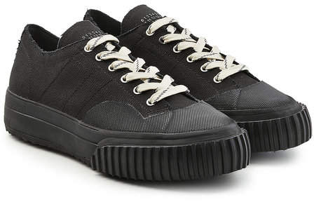 Maison Margiela Low-Top Canvas Sneakers