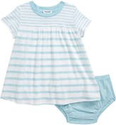Splendid Melange Stripe T-Shirt Dress