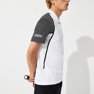 Lacoste Men's SPORT Mesh Sleeved Breathable Tennis Polo Shirt