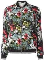 Dorothy Perkins Pink Floral Print Bomber Jacket