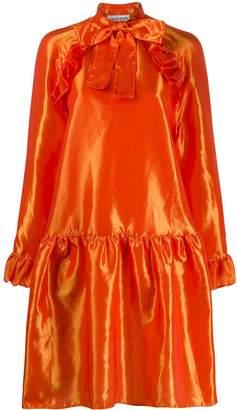 Sofie Sol Studio taffeta babydoll dress