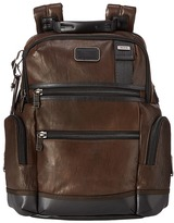 Tumi Alpha Bravo - Knox Leather Backpack