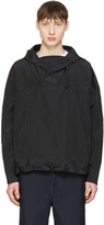 Undecorated Man Black Pullover Jacket