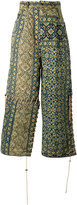 Craig Green printed loose fit trousers - men - Cotton/Wool - S