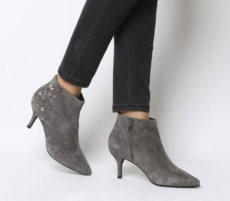 Shoe The Bear Agnete Studs Boots Dark Grey