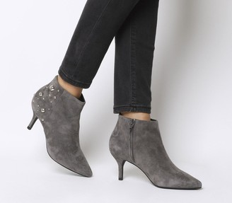 Shoe The Bear Shoe the Bear Agnete Studs Boots Dark Grey