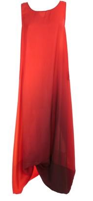 Maria Calderara Dress Marionetta W/s Printed Matte Satin