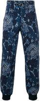 Etro floral print track pants - men - Cotton/Polyamide - S
