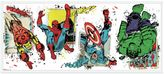 Bed Bath & Beyond York Wallcoverings Marvel® Superhero Burst Peel and Stick Giant Wall Decals