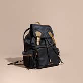 Burberry The Large Rucksack in Two-tone Nylon and Leather