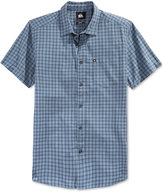 Quiksilver Men's Pacific Sound Plaid Short-Sleeve Shirt
