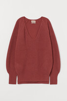 H&M Rib-knit Wool Sweater