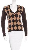 Michael Kors Argyle Cashmere Sweater