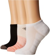Columbia PFG Ombre No Show 3-Pack Women's No Show Socks Shoes