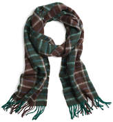 Brooks Brothers Two-Color Plaid Scarf