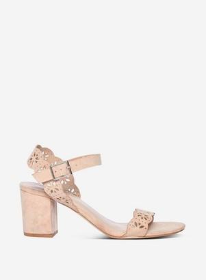Dorothy Perkins Womens Beige 'Sprice' Heeled Sandals