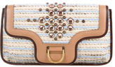 Marc Jacobs Jeweled Crochet Clutch