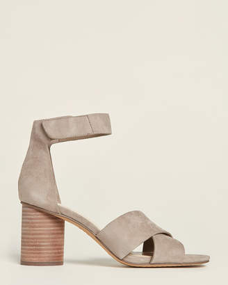 Vince Camuto Smoke Show Jessera Ankle Strap Suede Sandals