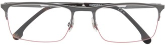 Carrera Half-Rim Rectangle Frame Glasses
