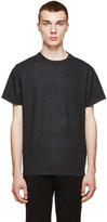 Christopher Kane Grey Checked Flannel T-Shirt