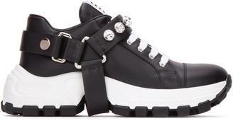 Miu Miu Buckle Embellished Sneakers