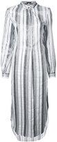 Ann Demeulemeester striped dress - women - Ramie/Polyester - 36