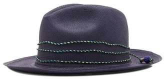 Sensi Panama hat with straw details