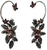 Roberto Cavalli Flora & Fauna Earrings