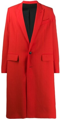 Ami Two-Buttons Coat