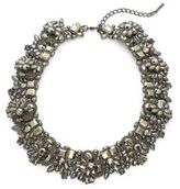 Saks Fifth Avenue Holiday Statement Crystal Necklace