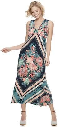Petite Suite 7 Floral Print Maxi Dress