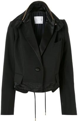 Sacai Oversized Cropped Jacket