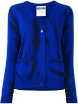 Moschino trompe-l'oeil cardigan - women - Virgin Wool - 40