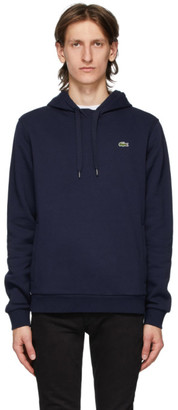 Lacoste Navy Classic Logo Hoodie