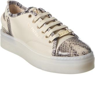 Valentino By Mario Valentino Dalia Leather Sneaker