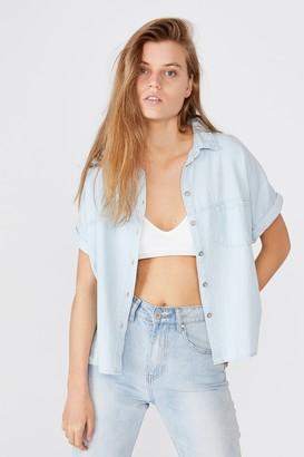 Cotton On Oversize Drop Shoulder Short Sleeve Shirt