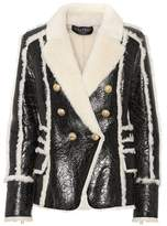 Balmain - Rue Mademoiselle - Vestes en cuir 6c9de3d320f