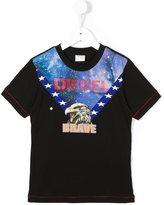 Diesel eagle print T-shirt