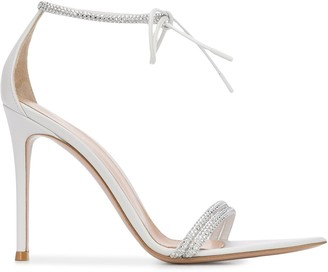 Gianvito Rossi Montecarlo crystal-embellished sandals