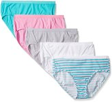 Fruit of the Loom Women's Plus-Size 5 Pack Fit For Me Hipster