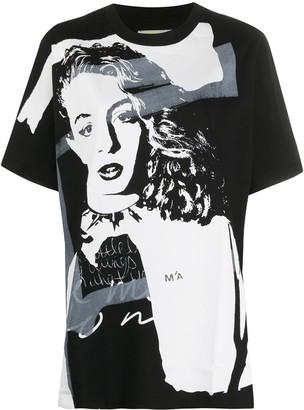 Marques Almeida graphic-print T-shirt