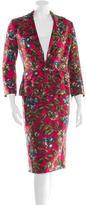 Dolce & Gabbana Floral Skirt Suit