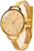 Willtoo(TM) Girls Women Ladies Analog Stainless Quartz Bracelet Wristwatch Watch