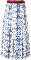 Gucci New Flora print skirt